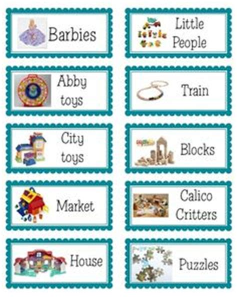 1000 Images About Playroom On Pinterest Train Table Playrooms And Teepees Bin Labels Template