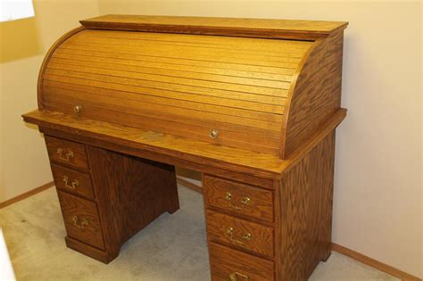 Used Roll Top Desk by Large Oak Roll Top Desk Saanich
