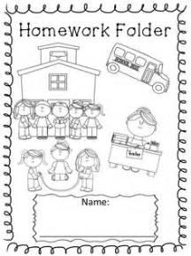 1000 ideas about kindergarten homework folder on