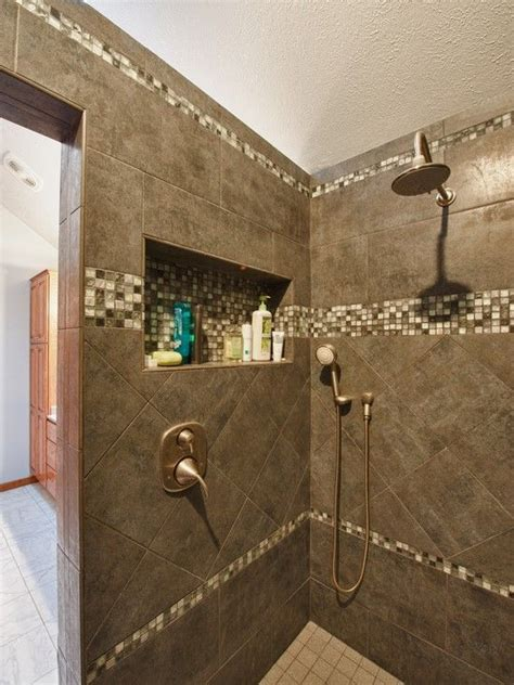Bathroom Niche Ideas by Niche Traditional Bathroom White Tile Bath Design Pictures Remodel Decor And Ideas Page