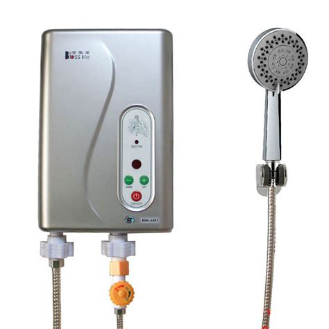 electric water heater instant shower panel system