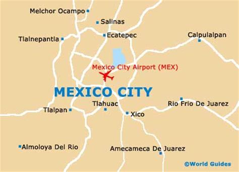 mexico city on a map international airports in mexico map