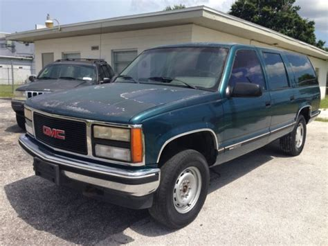 automobile air conditioning repair 1993 gmc suburban 1500 security system no reserve 1992 gmc suburban k1500 4x4 for sale photos technical specifications description