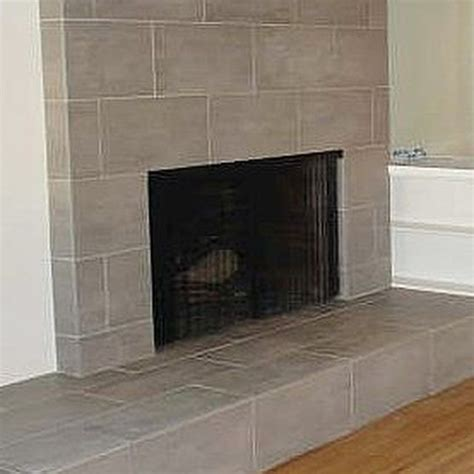 Fireplace Tile Brick by How To Tile A Brick Fireplace Fireplaces Tile And