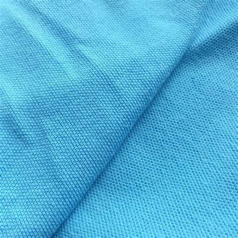 pique knit fabric cotton poly pique knit fabric knitted fabric manufacturer