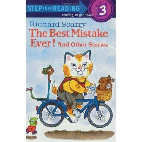 sir blunder a bedtime story for big books richard scarry s the best mistake and other stories