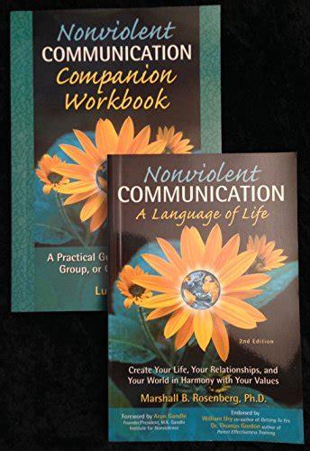 Pdf Nonviolent Communication Companion Workbook 2nd by Ebook Nonviolent Communication A Language Of Free