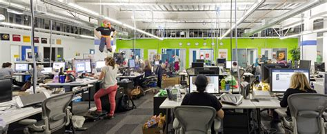 Work And Play Floor Plans the evolution of office design morgan lovell
