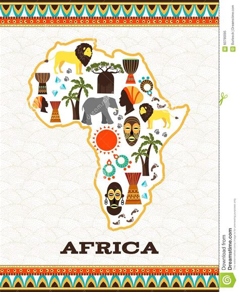 travels and researches in south africa including a sketch of sixteen years residence in the interior of africa classic reprint books africa map with icons stock vector image 60790095