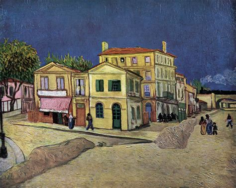vincent house vincent s house in arles the yellow house by gogh vincent van