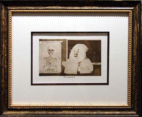 frame design ltd charles bragg the anatomist duotone offset lithograph