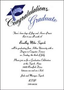 graduation invitations wording theruntime