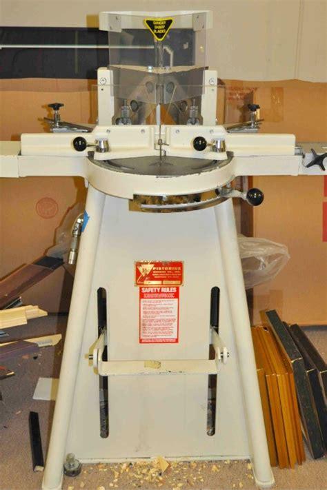 pistorius foot chopper used framing gallery equipment