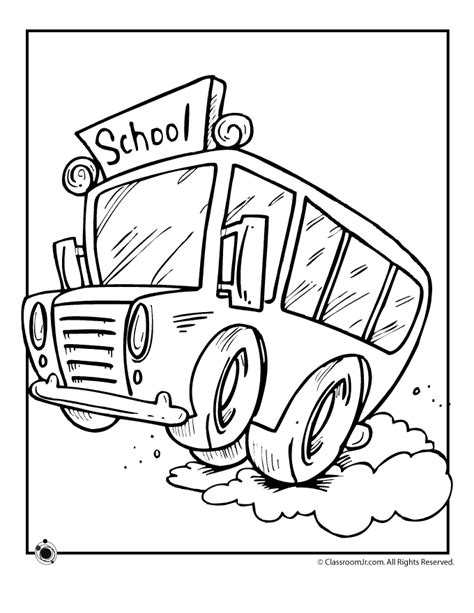school bus coloring page printable coloring home