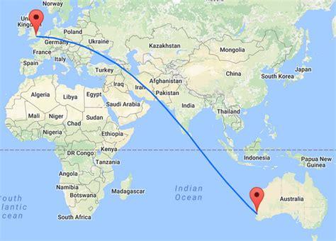 map uk to australia direct flights between europe and australia qantas