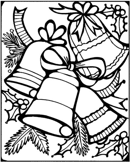 free printable coloring pages of christmas bells free christmas coloring page bells