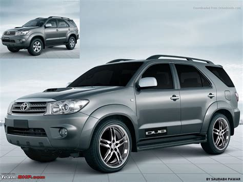 Fortuner J 657 Black White the gallery for gt toyota fortuner black modified