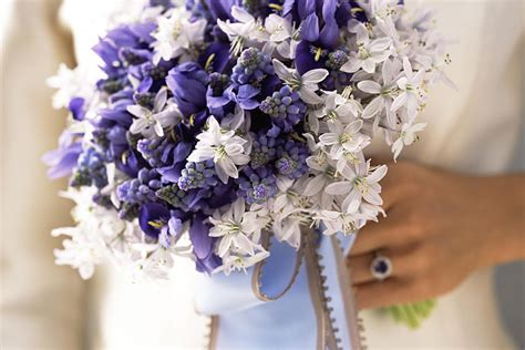 Purple Wedding Bouquets by Purple Bridal Bouquet