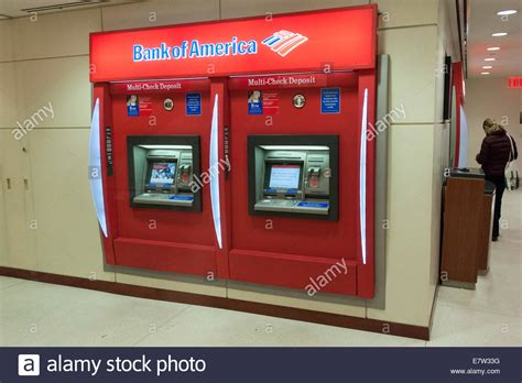 bank of america atm bank of america atm stock photo royalty free image