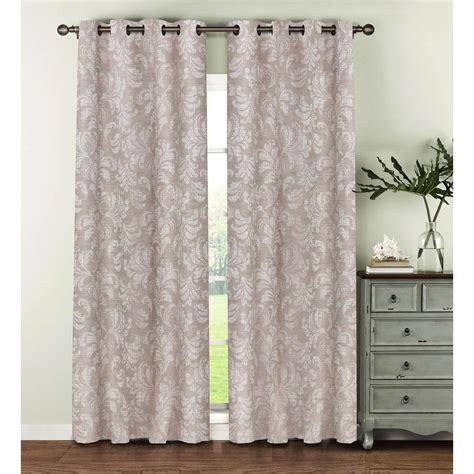 linen curtain panels 96 window elements semi opaque dover linen blend 96 in l