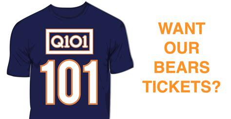 K Fed Cant Even Give Tickets Away To His Concerts by Want Our Bears Tickets Q101 Chicago S Alternative