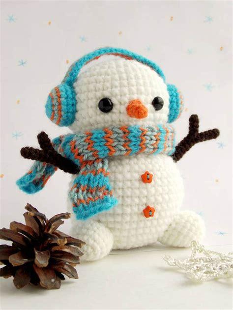 patterns christmas snowman free crochet snowman pattern amigurumi today