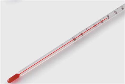 Termometer Batang why does a common mercury thermometer consist of a large volume filled mercury bulb attached to
