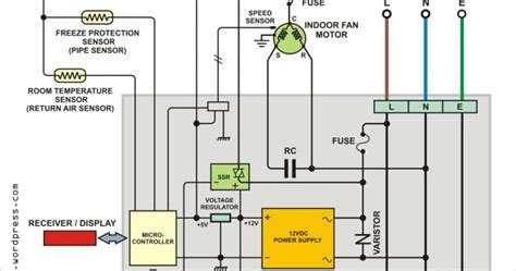 wiring diagram modul ac split wiring diagram with