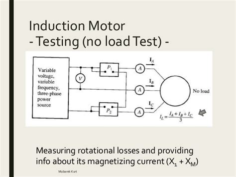 induction motor no load losses electrical power systems induction motor