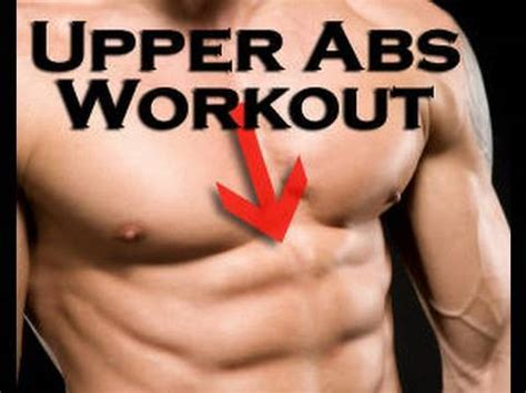 pack abs fast upper abs workout youtube
