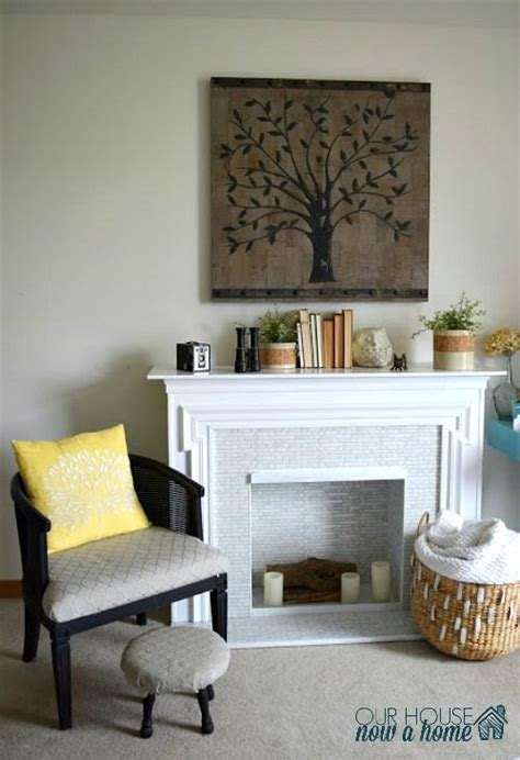 Electric Fireplace Makeover by A Simple Redo Of A Secondhand Electric Fireplace Drab To Fab Hometalk
