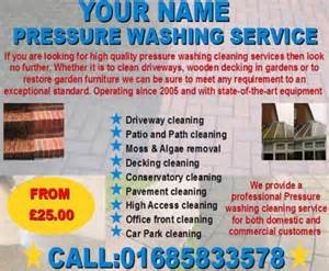 pressure washing cleaning business templates download