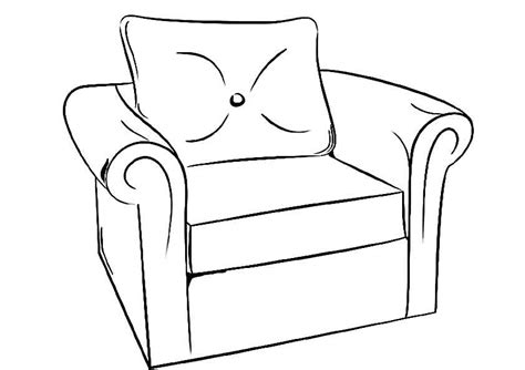 coloring page of a dresser furniture coloring page for kids to print and download for
