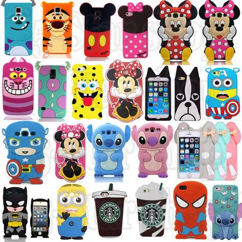 Samsung J2 Prime 3d Silicone Mickey Minnie Mouse Back Cover Lucu 1 3d stitch sulley minnie mickey mouse bat minion tiger