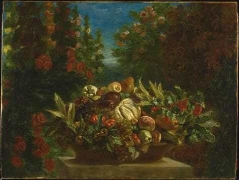 Modern Fruit Bowl by Delacroix And The Rise Of Modern Art The National