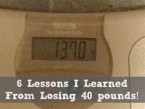 7 Lessons To Learn From Losing Your by Tammy S Tuesday Weigh In 6 Lessons I Learned From Losing