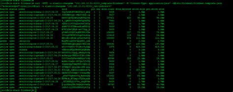 Elasticsearch Can T Load Filebeat Template Json Filebeat Discuss The Elastic Stack Elasticsearch Get Template