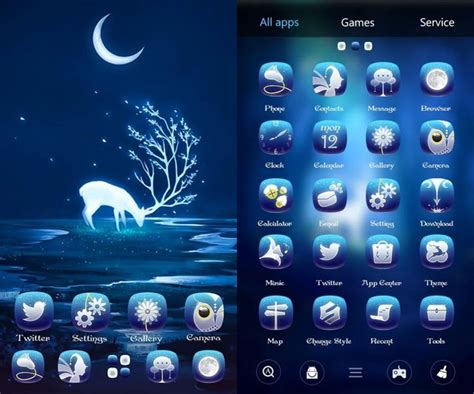 8 best android themes ubergizmo - Themes For Android Free
