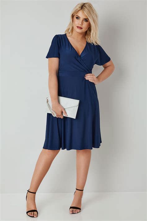 Lyra Dress voluptuous navy lyra dress plus size 16 to 32