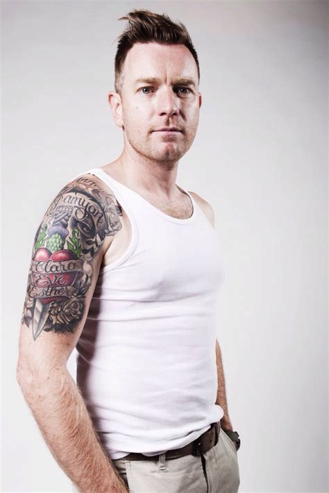 ewan mcgregor tattoo www pixshark com images galleries