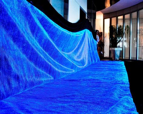 luminous fabric, Luminous clothing, fiber optic clothing, fiber optic fabric, illuminated