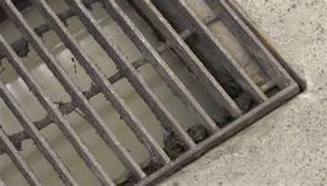 How to Install an Outside Garage Floor Drain   Garden Guides