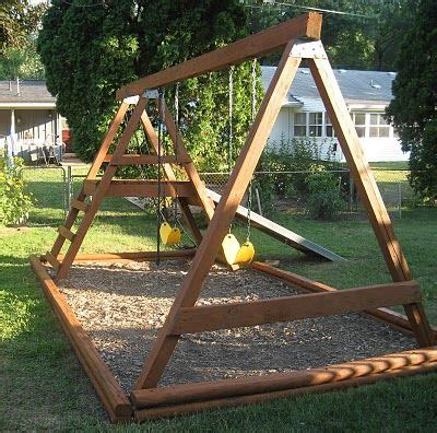 cheap wooden porch swings best 25 swing sets ideas on pinterest kids swing set