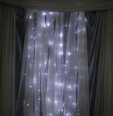 lighted curtains 12ft tall curtain led light strands 288 lights event