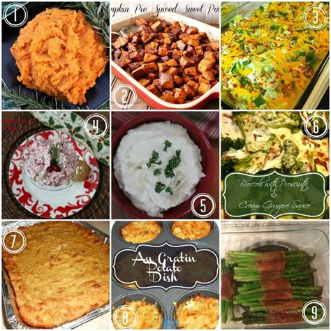 9 yummy thanksgiving dinner side dishes fall halloween
