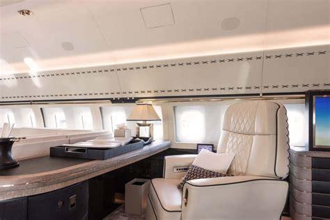 bbj   interior  winch design   flying home