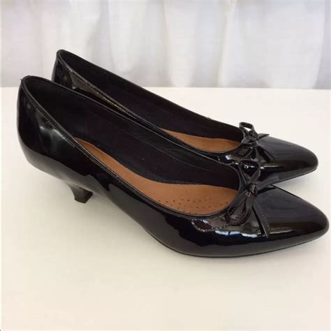 super comfortable flats 47 off clarks shoes black flats heels with cute bow