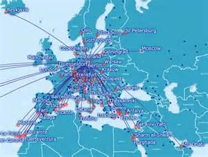 British Airways Route Map by Best Use Of British Airways Avios