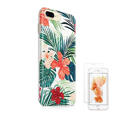 Soft Mirror Iphone 6 55inch Bumper Softcase Bisa Cermin iphone 7 plus iphone 8 plus tropical floral 24h phone