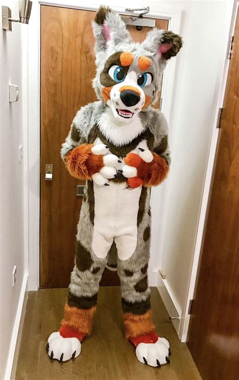 pin  clementine  awesome fursuits furry costume